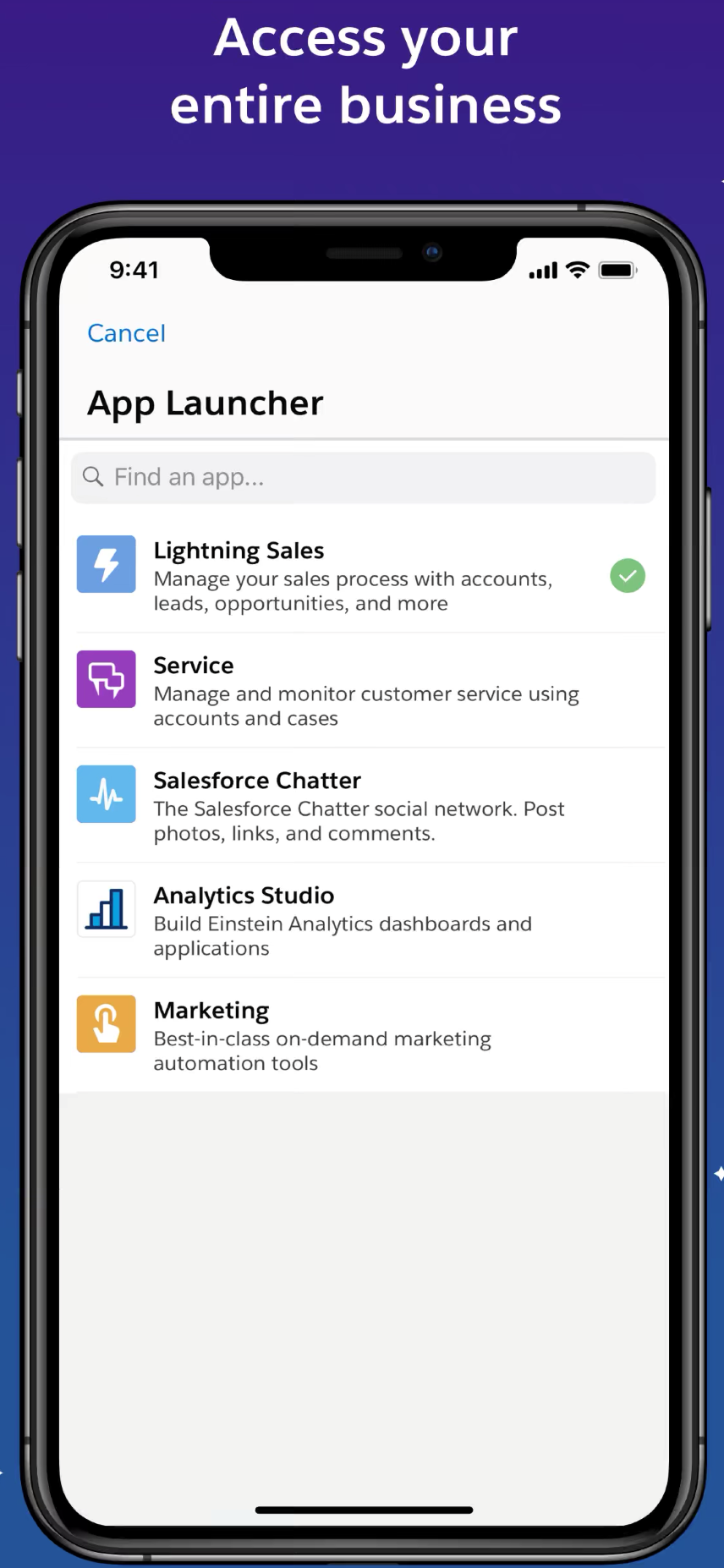 Product Salesforce