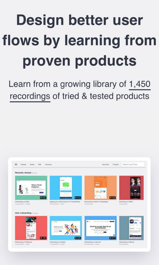 Product Page Flows